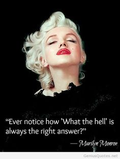 Marilyn Monroe top best quote from her Great Quotes, Inspirational Quotes, Marilyn Monroe Artwork, Marilyn Monroe Quotes, Norma Jeane, Romantic Love Quotes, Old Actress, Real Women, Amazing Women
