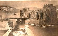 The bridge of Chalkis when it still protected the fortress on the ferry Photo Story, Old Photos, Bridge, Painting, Art, Old Pictures, Art Background, Bridge Pattern, Vintage Photos