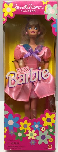 1996 Mattel Special Edition Russell Stover Candies Barbie This item is NOT in Mint Condition and is in no way being described as Mint or even Near Mint. Our toys have not always lead the perfect life,