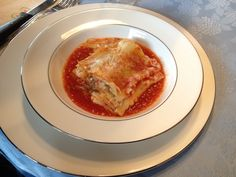 A plate of Lasagna