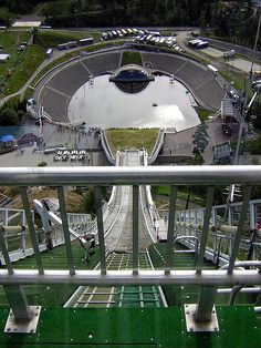 "Holmenkollen Ski Jump, Oslo, Norway -- this was in my ""back yard"" when living in Oslo !!!! #Norway ☮k☮ #Norge"