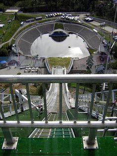 "Holmenkollen Ski Jump, Oslo, Norway -- this was in my ""back yard"" when living in Oslo !!!!"