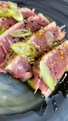 Fresh Tuna Recipes, Fish Recipes, Seafood Recipes, Asian Recipes, Cooking Recipes, Healthy Recipes, Recipes For Tuna Steaks, Seared Tuna Steak Recipe, Meat Recipes