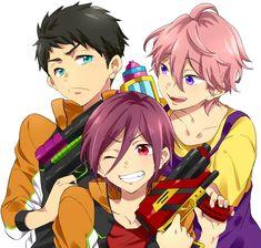 Sousuke & Kisumi & Rin | Free! Eternal Summer