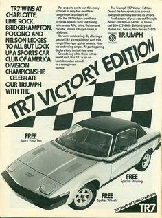 1977 Triumph TR7 Victory Edition