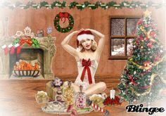 Pin Up - Christmas