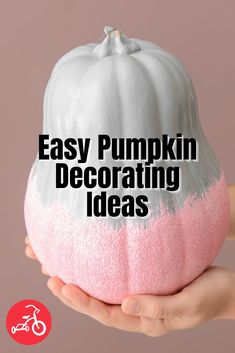 This Halloween, spice up your usual pumpkin decorating ideas with our roundup of no-carve pumpkins! From glow-in-the-dark paint to creative pumpkin accessories, these pumpkin ideas are festive, fun and full of Halloween spirit. #nocarvepumpkin #pumpkindecor #fallactivities