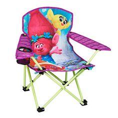 DreamWorks Trolls Poppy & Friends Child Folding Armchair by Exxel Outdoors