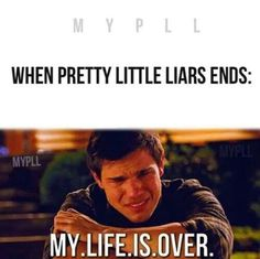 Pretty Little Liars lol like twilight all over again!