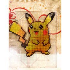 Pikachu perler beads by  karliiiiiii