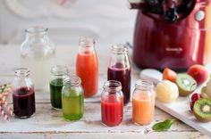 Karen Chevallier vous propose 6 recettes de jus pour faire une cure de jus détox d'une journée.