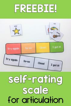 Download this FREEBIE now and help your speech therapy students to self-rate and self-monitor during articulation practice! It is perfect to help clients self-correct incorrect productions by increasing their awareness. Communication Activities, Speech Therapy Activities, Language Activities, Speech Pathology, Speech Language Pathology, Speech And Language, Self Monitoring, Articulation Therapy, Free Therapy