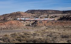 NMRX 105 New Mexico Railrunner Express MPI MP36PH-3C at Rosario , New Mexico by Will Jordan