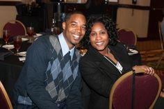 NC Interior technician, Jermaine Venable and his lovely date, Lydia Kemunto.