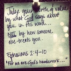 I am who God says I am - I struggle with this daily. Lord, help me to act on what I know is true from Your Word--help me to be an example of a Godly woman for A.G.