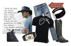 """""""Humble and Kind Sexy Men of Country Music"""" by jroy1267 ❤ liked on Polyvore featuring Laredo, AMIRI, Dolce&Gabbana, Dsquared2, Pottery Barn, country, men's fashion and menswear"""