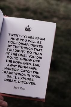 Twenty Years From Now.   bookmania: Keep Calm Quote Book
