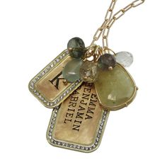 Custom Heirloom Jewelry by Heather Moore at Long's Jewelers