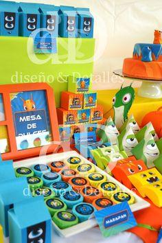 Fiesta Temática Mesa De Dulces Infantil Bajoterra - $ 120.00