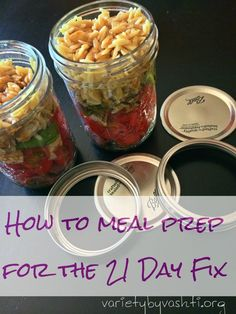 Help with meal prepping so the rest of the week is easier