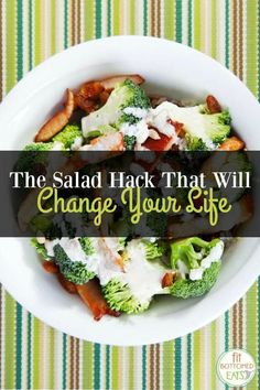 How to use less dressing but still have awesome flavor on those big ass salads!   Fit Bottomed Eats