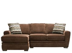 Artemis II 2-pc. Microfiber Sectional Sofa | Sectional Sofas | Raymour and Flanigan Furniture & Mattresses