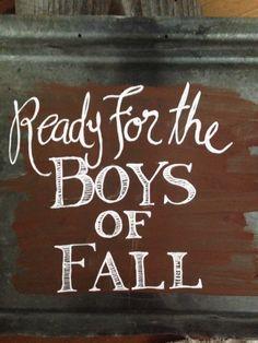 Boys+if+Fall+tin+sign++by+gracelangdon+on+Etsy,+$25.00