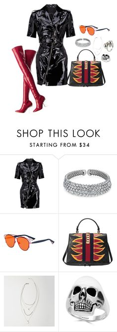 """""""patent"""" by denimsacai on Polyvore featuring Bling Jewelry, Christian Dior, Gucci, Abercrombie & Fitch, Effy Jewelry and Alexander McQueen"""