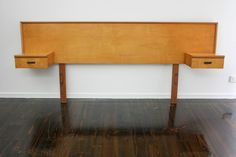 MID Century Floating Bedside Tables Drawers Bedhead Retro Vintage Danish Eames era in VIC | 360 Modern Furniture eBay