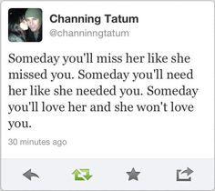 (channing tatum,quotes,aww,love,twitter)