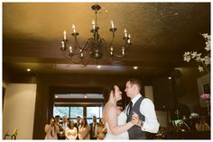 Bride and Groom's first dance at the English Inn Victoria BC. Photos by Sujata Photography