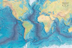 How One Woman's Discovery Shook the Foundations of Geology. She discovered  It's the largest single geographical feature on the planet, the mid-ocean ridge, a 40,000-mile underwater mountain range that wraps around the globe like the seams on a baseball.