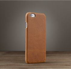 RH's Italian Leather Hard Shell Case For Iphone 174; 5/5s/6/6s/6
