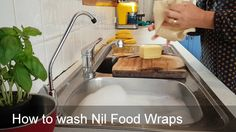 We wanted to show you how easy it is to wash our Nil Organic Food Wraps. Simply wash in cool soapy water and rinse. Organic Recipes, Lunch Box, Wraps, Store, Inspiration, Food, Coats, Tent, Biblical Inspiration