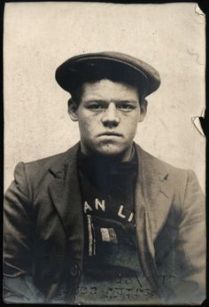 Vintage Everyday: 35 North Shields Criminal Mugshots from WWI