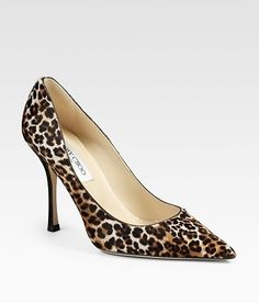 Looking for a GREAT new pair of leopard print shoes, wore holes through my Nine West ones....if only I could afford these...