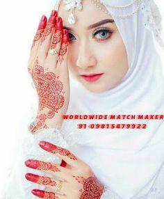 so pretty,hijab and henna ideas. Muslim Brides, Muslim Girls, Muslim Women, Bridal Hijab, Hijab Bride, Niqab, Beautiful Hijab, Beautiful Bride, Beautiful Eyes