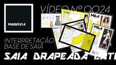 VIDEO MODELISTA No 0024 - SAIA DRAP