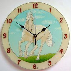 Egyedi, kézzel festett, üveg falióra, hangtalanul működő óraszerkezettel. Mandala, Clock, Wall, Home Decor, Watch, Decoration Home, Room Decor, Mandalas, Clocks