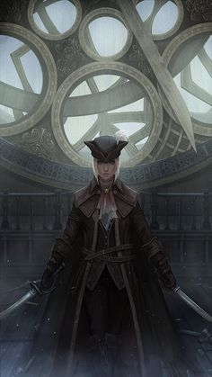 "Lady Maria by yagaminoue on DeviantArt    ""A corpse… should be left well alone. Oh, I know very well. How the secrets beckon so sweetly. Only a honest death will cure you now. Liberate you, from your wild curiosity."""