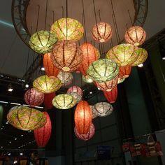 Lampions / Paper lantern par Marie-Claire Maison.fr