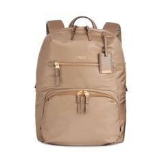 TUMI Voyageur Halle Backpack. #tumi #bags #leather #nylon #backpacks #
