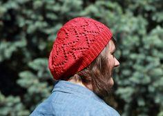 Heart hat free knitting pattern. More Valentine's Day and heart free knitting patterns at http://intheloopknitting.com/valentines-day-free-knitting-patterns/