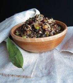 36 Ideas For Pasta Salad Winter Wild Rice Easy Pasta Sauce, Easy Pasta Recipes, Pasta Salad Recipes, Healthy Recipes, Winter Salad, Winter Food, Winter Meals, Wild Rice Salad, Homemade Hamburgers