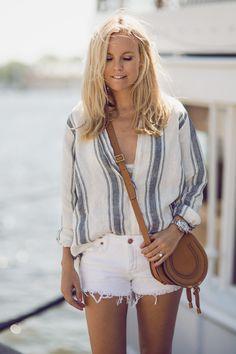 Style... Sofi Fahrman // Linen Shirt