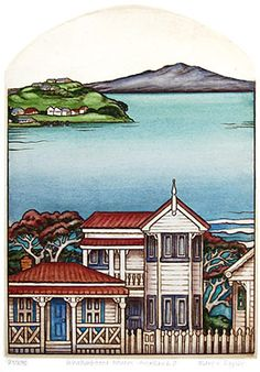 mary taylor nz prints and etchings New Zealand Houses, New Zealand Art, Nz Art, Art For Art Sake, Maori Symbols, Arts And Crafts Storage, Maori Designs, Kiwiana, Marker Art