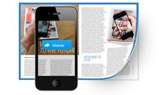Mobile Marketing ROI — Clickable Print should lead to Engaging Content which encourages customers visually scan and engage.