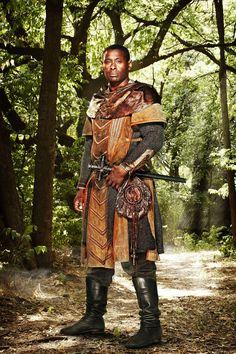 David Harewood, in Robin Hood. Fantasy Inspiration, Character Inspiration, Character Design, Character Reference, Story Inspiration, High Fantasy, Medieval Fantasy, David Harewood, Robin Hood Bbc