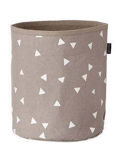 Organic Cotton Graphic Basket from #HannaAndersson.
