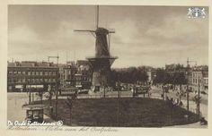 Oostplein met molen de hoop 1925